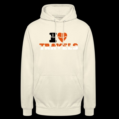 i love travels for life - Unisex Hoodie