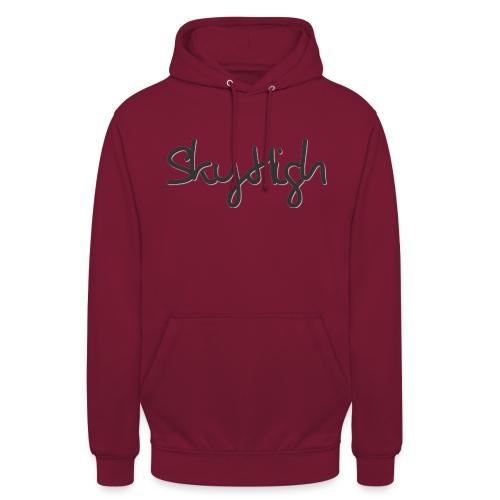 SkyHigh - Men's Premium Hoodie - Black Lettering - Unisex Hoodie