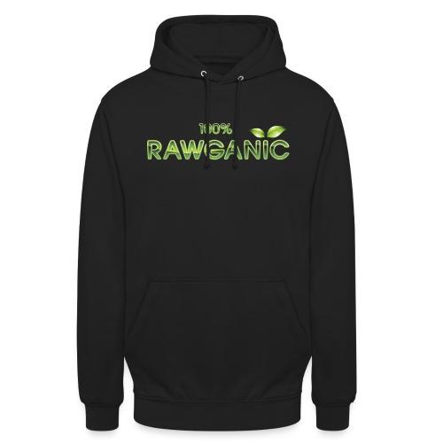 100% Rawganic Rohkost Blättchen - Unisex Hoodie