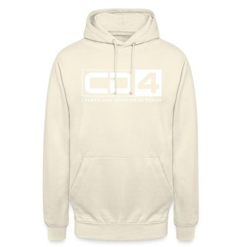 cd4 logo dikker kader bold font - Hoodie unisex