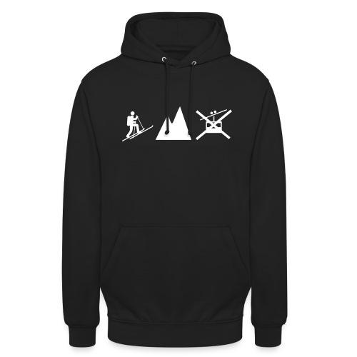 Skitouren Gipfelstürmer - Unisex Hoodie