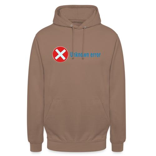 "Unkown Error - Huppari ""unisex"""