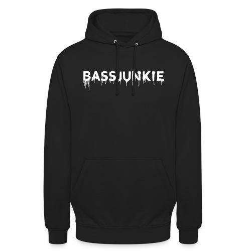 Bassjunkie Bass Liebe Electronic Music Dark Musik - Unisex Hoodie