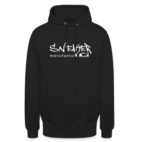 Sneakermanufaktur Linz - black edition - Unisex Hoodie