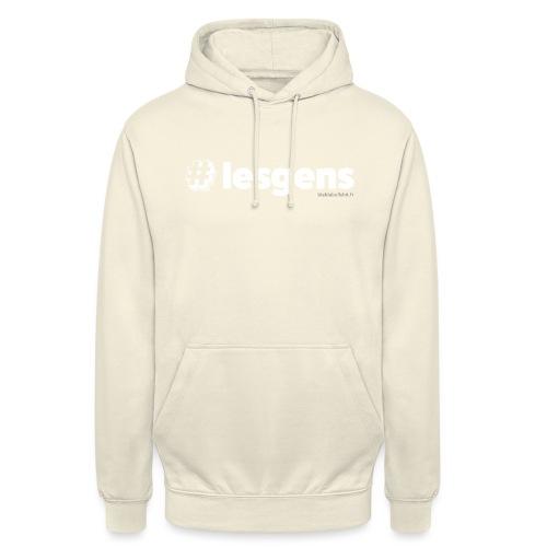 #lesgens - Sweat-shirt à capuche unisexe