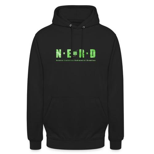 NERD Green - Hættetrøje unisex