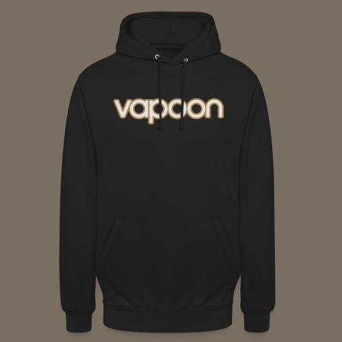 Vapoon Logo simpel 2 Farb - Unisex Hoodie