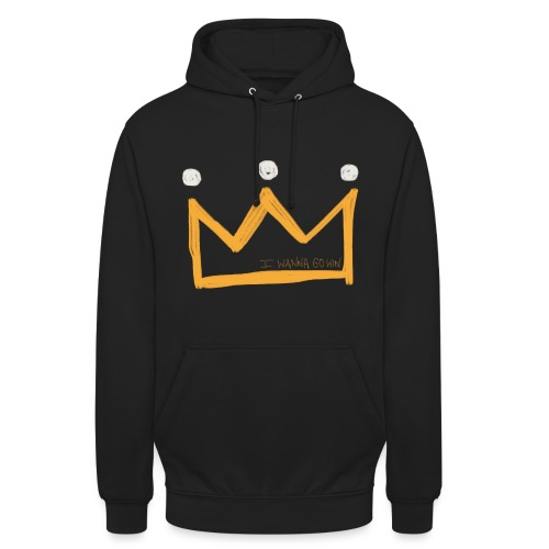 I Wanna Go Win Crown - Shadow - Unisex Hoodie