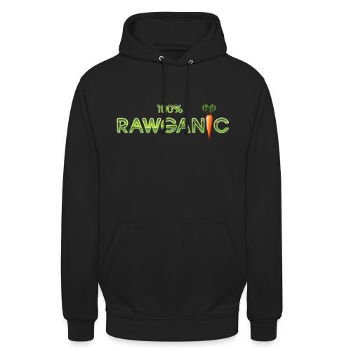 100% Rawganic Rohkost Möhre - Unisex Hoodie
