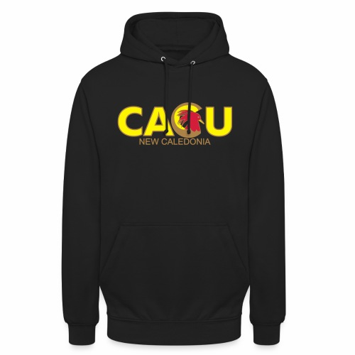 Cagu New Caldeonia - Sweat-shirt à capuche unisexe