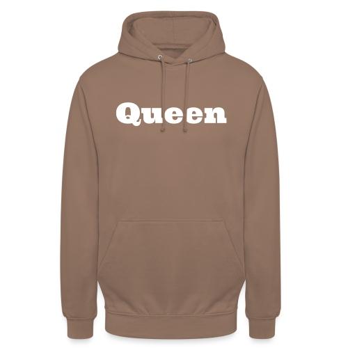 Snapback queen zwart/grijs - Hoodie unisex