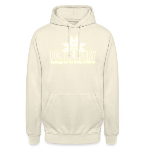 Power and Glory Logo glow - Unisex Hoodie