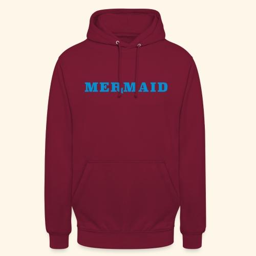 Mermaid logo - Luvtröja unisex