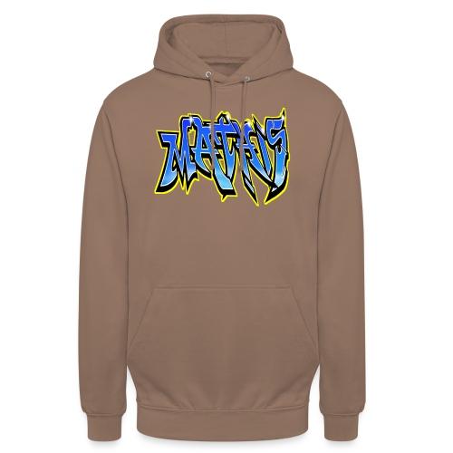 Graffiti Mathis - Sweat-shirt à capuche unisexe