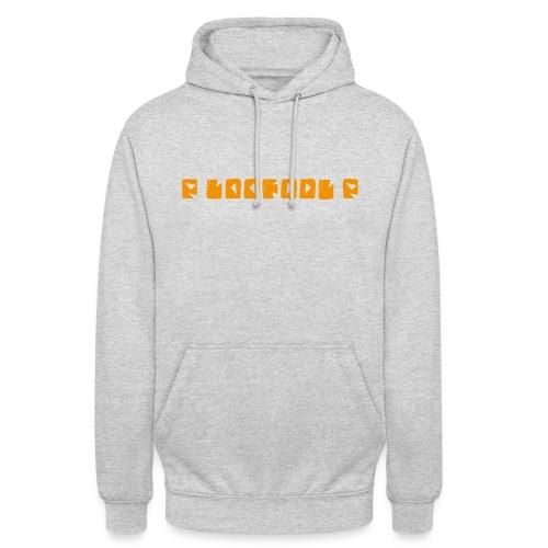 P loofool P - Orange logo - Unisex-hettegenser