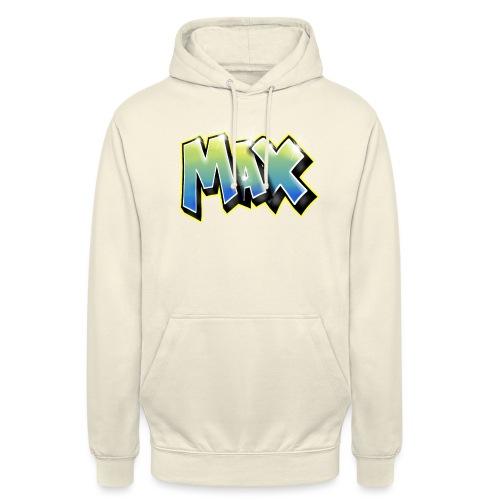 Graffiti Max - Sweat-shirt à capuche unisexe