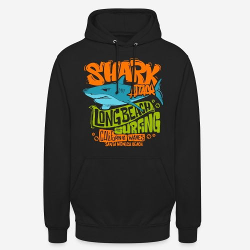 Hai-Surf-Surfen california - Unisex Hoodie