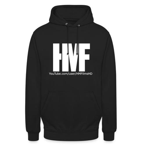 HMFilmsHD Weiß - Unisex Hoodie