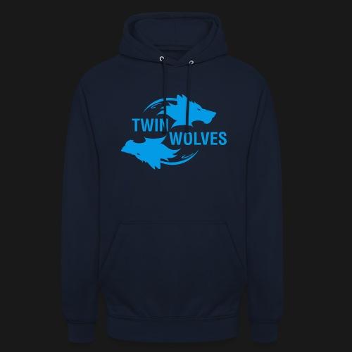 Twin Wolves Studio - Felpa con cappuccio unisex