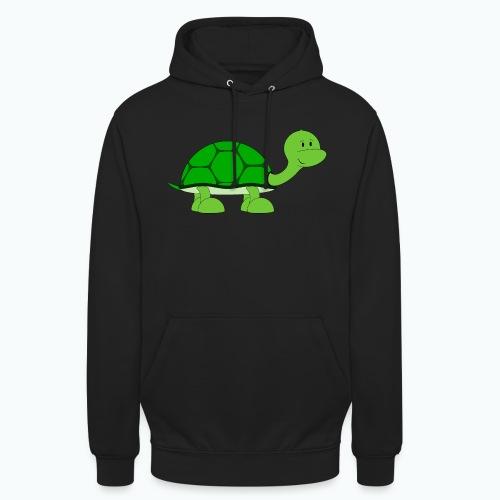 Totte Turtle - Appelsin - Luvtröja unisex