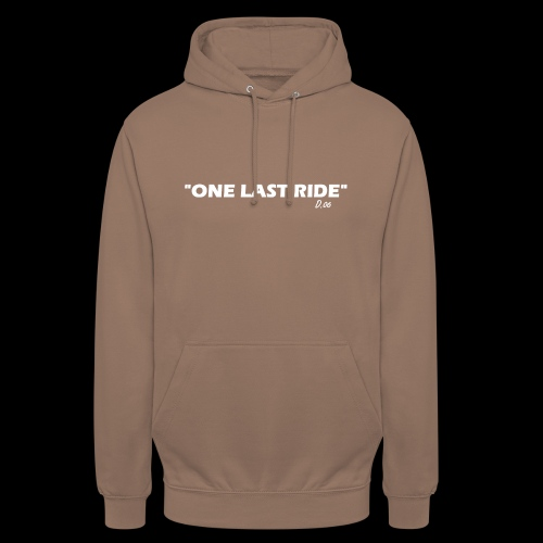 one last ride - Sweat-shirt à capuche unisexe