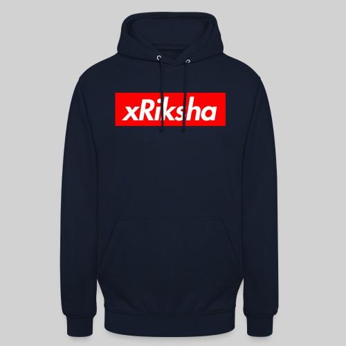 """xRiksha - Box logo - Huppari """"unisex"""""""