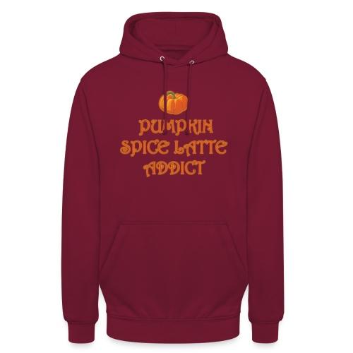 PumpkinSpiceAddict - Felpa con cappuccio unisex