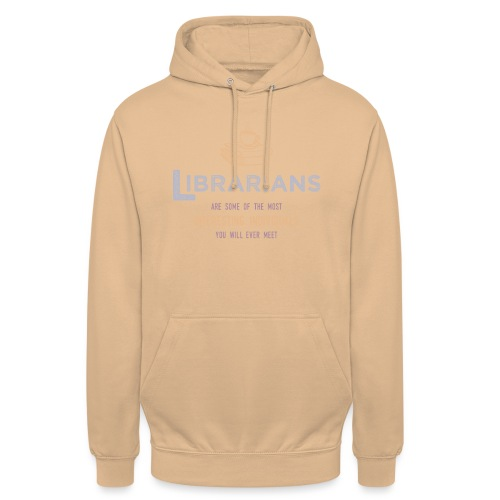 0336 Librarian & Librarian Funny saying - Unisex Hoodie