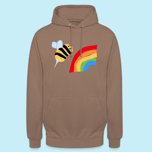 BEe Gay - Sweat-shirt à capuche unisexe