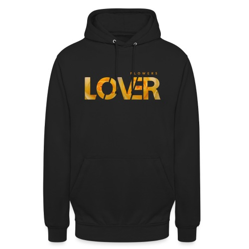 Flowers Lovers - Yellow - Felpa con cappuccio unisex