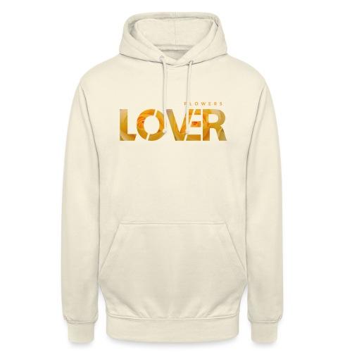 Flowers Lovers - Yellow - Felpa con cappuccio unisex