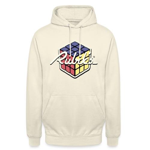 Rubik's Cube Retro Style - Unisex Hoodie