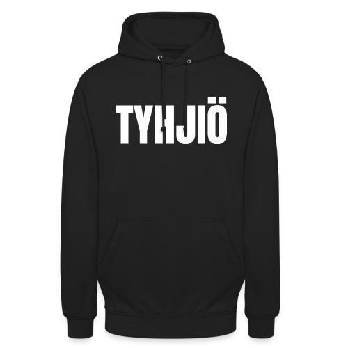 "TYHJIÖ Logo White - Huppari ""unisex"""