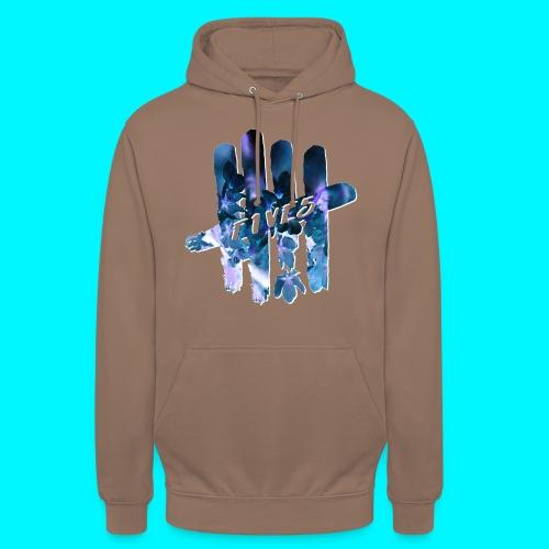 FIVES space flowers - Sweat-shirt à capuche unisexe