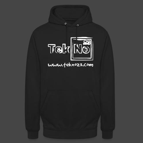 tekno23 - Sweat-shirt à capuche unisexe