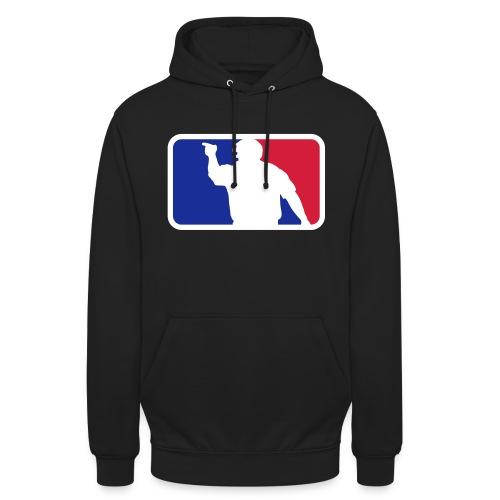 Baseball Umpire Logo - Unisex Hoodie