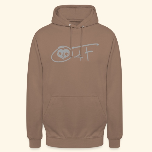 O4F GRIGIO - Felpa con cappuccio unisex