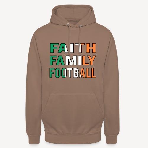 FAITH FAMILY FOOTBALL - Unisex Hoodie