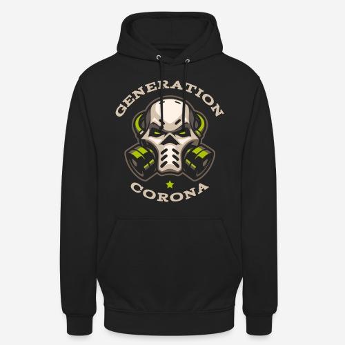 corona generation covid - Unisex Hoodie