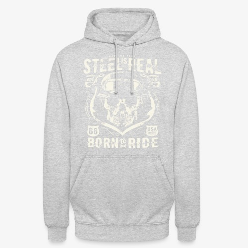 Have No Fear Is Real Born To Ride est 68 - Unisex Hoodie
