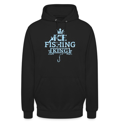 Ice Fishing Winter Fun - Unisex Hoodie