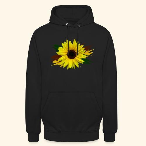 Sonnenblume, Sonnenblumen, Blume, floral, blumig - Unisex Hoodie
