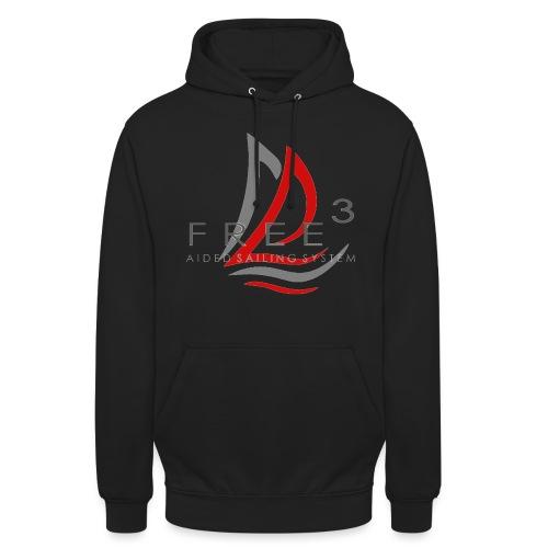 Free3 Aided Sailing System - Felpa con cappuccio unisex