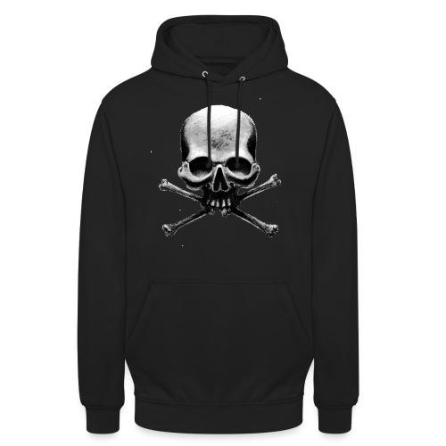 HardSkull - Felpa con cappuccio unisex