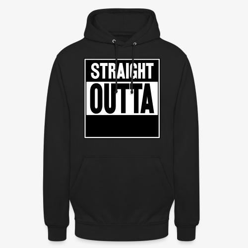 Straight Outta - Luvtröja unisex