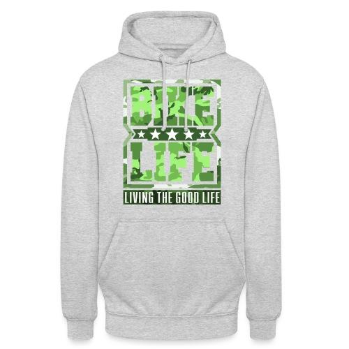 Bikelife Green Camo - Unisex Hoodie