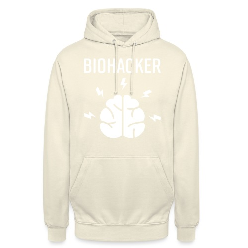 Biohacker Biohacking Geschenk Lifestyle Keto Shirt - Unisex Hoodie