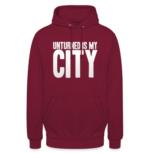 Unturned is my city - Unisex Hoodie