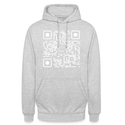 QR - Maidsafe.net White - Unisex Hoodie