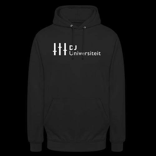 DJ-U (WIT) - Hoodie unisex